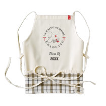 Nursing School Graduate Gear Zazzle HEART Apron