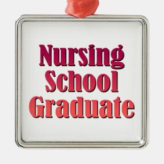 Nursing School Graduate Metal Ornament