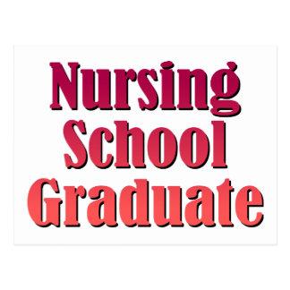 Nursing School Graduate Postcard