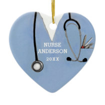 Nursing School Graduation Ceramic Ornament