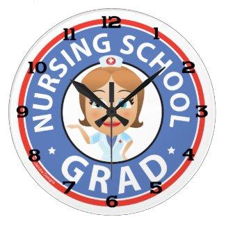 Nursing School Graduation Clock