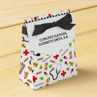 Nursing School Graduation Favor Box