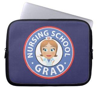 Nursing School Graduation Laptop Sleeves