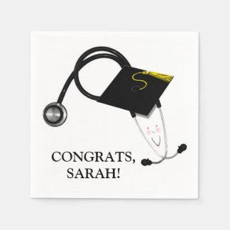 Nursing School Graduation Napkin