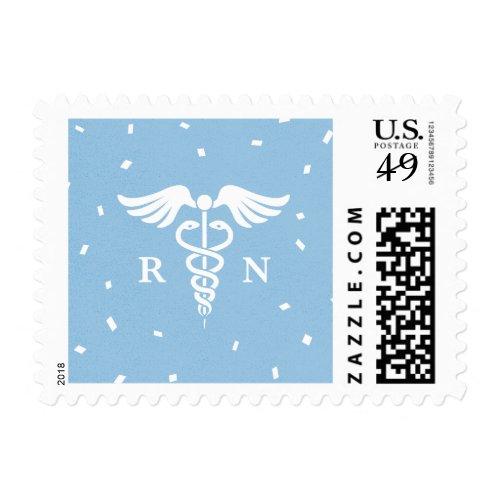 Nursing School Graduation Party Postage Stamp