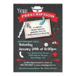 Nursing School Graduation Party Prescription 5x7 Paper Invitation Card