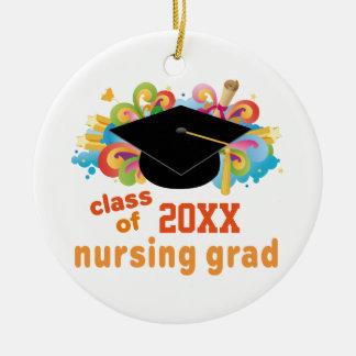 Nursing School Graduation Personalized Ornament