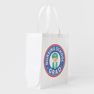 Nursing School Graduation Reusable Grocery Bag