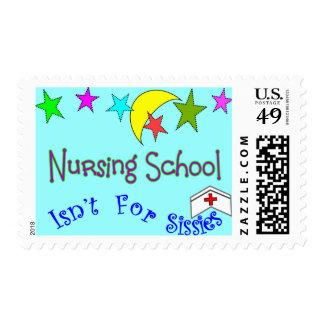 Nursing School Isn't For Sissies Postage