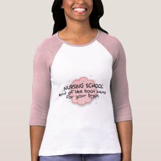 Nursing School - Like Brain Boot Camp T Shirts