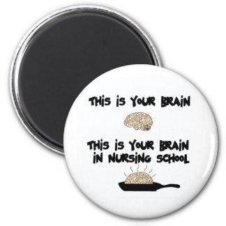 Nursing School 2 Inch Round Magnet