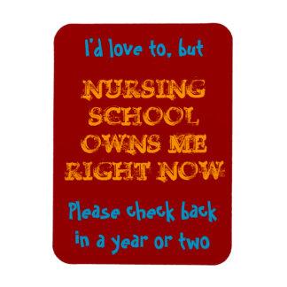 Nursing school owns me magnet