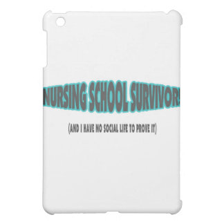 Nursing School Survivor (And I have No Social Life iPad Mini Cases