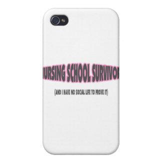 Nursing School Survivor And I have No Social Life iPhone 4 Case