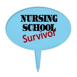Nursing School Survivor Cake Topper