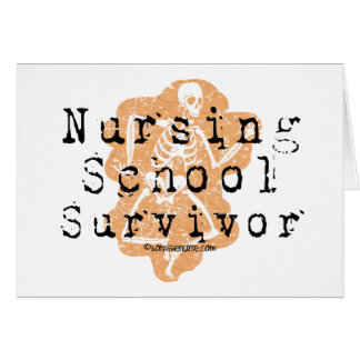 Nursing School Survivor Card