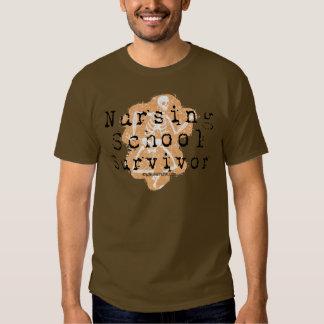 Nursing School Survivor Shirt