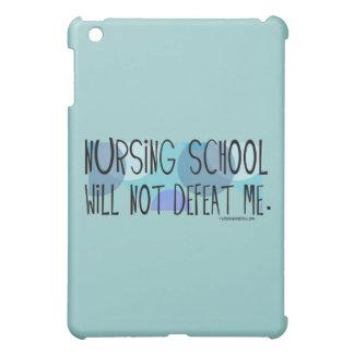Nursing School will not Defeat Me iPad Mini Cover