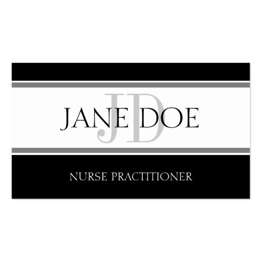 nurse practitioner business card templates bizcardstudio