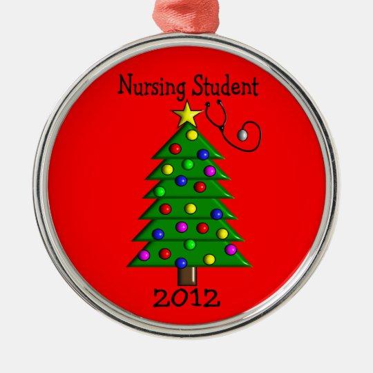 Nursing Student 2012 Christmas Ornament