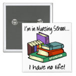 Nursing Student 2 Inch Square Button