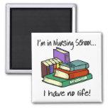 Nursing Student 2 Inch Square Magnet