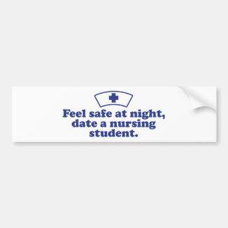Nursing Student Bumper Sticker