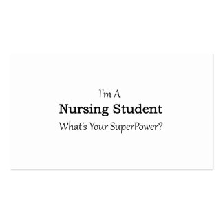 Nursing student business cards templates zazzle for What to put on a business card student