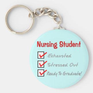 "Nursing Student ""Check Mark"" T-Shirts & Gifts Keychain"
