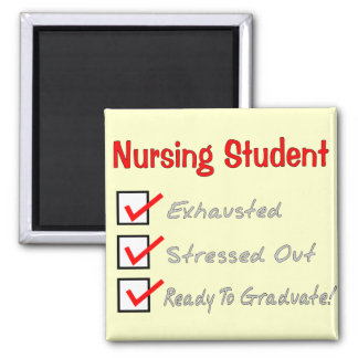 "Nursing Student ""Check Mark"" T-Shirts & Gifts Magnet"