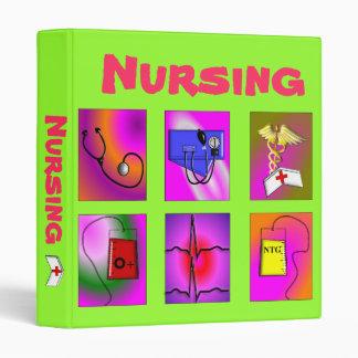Nursing Student Class Binder Notebook