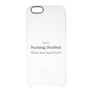 Nursing Student Clear iPhone 6/6S Case