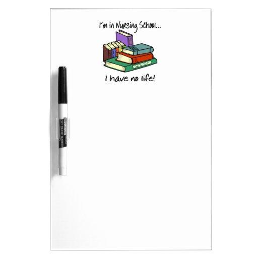 Nursing Student Dry-Erase Whiteboard