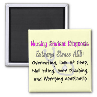 Nursing Student Dx: T-Shirts & Gifts Hilarious! Refrigerator Magnets