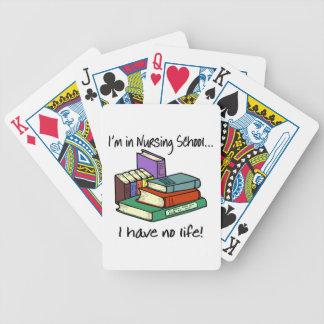 Nursing Student Bicycle Poker Cards