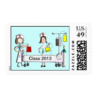 Nursing Student Postage Stamps Class of 2013