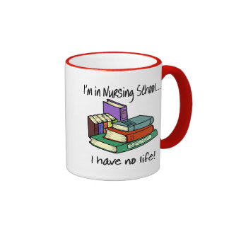 Nursing Student Ringer Coffee Mug