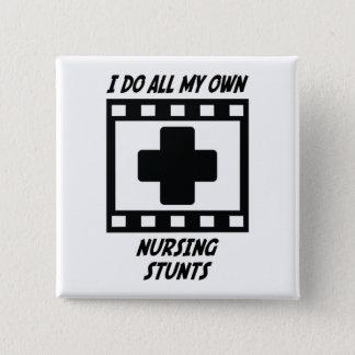 Nursing Stunts Button