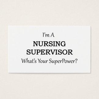 Nursing Supervisor Business Card