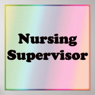 Nursing Supervisor Posters
