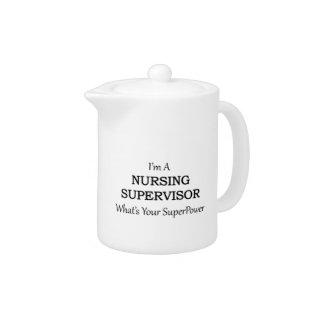 Nursing Supervisor Teapot at Zazzle