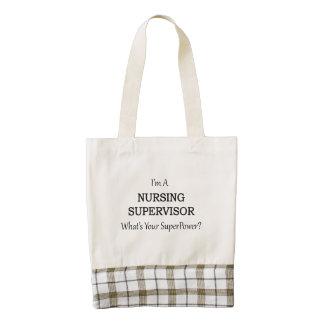 Nursing Supervisor Zazzle HEART Tote Bag