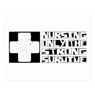Nursing Survive Postcard