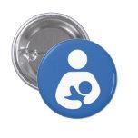 Nursing symbol 1 1/4 inch button