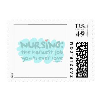 Nursing - the Hardest Job Postage