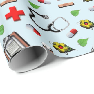 Nursing Wrapping Paper