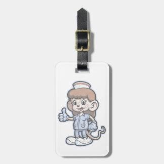 Nursy Mouse Luggage Tag