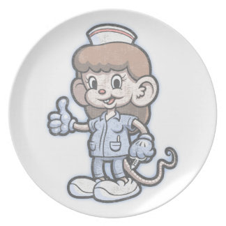 Nursy Mouse Melamine Plate