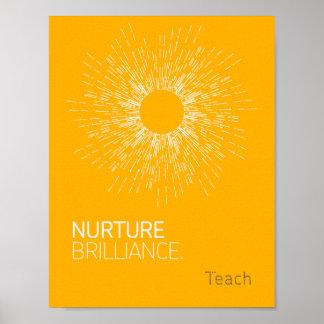 Nurture Brilliance Poster