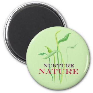 Nurture Nature 2 Inch Round Magnet